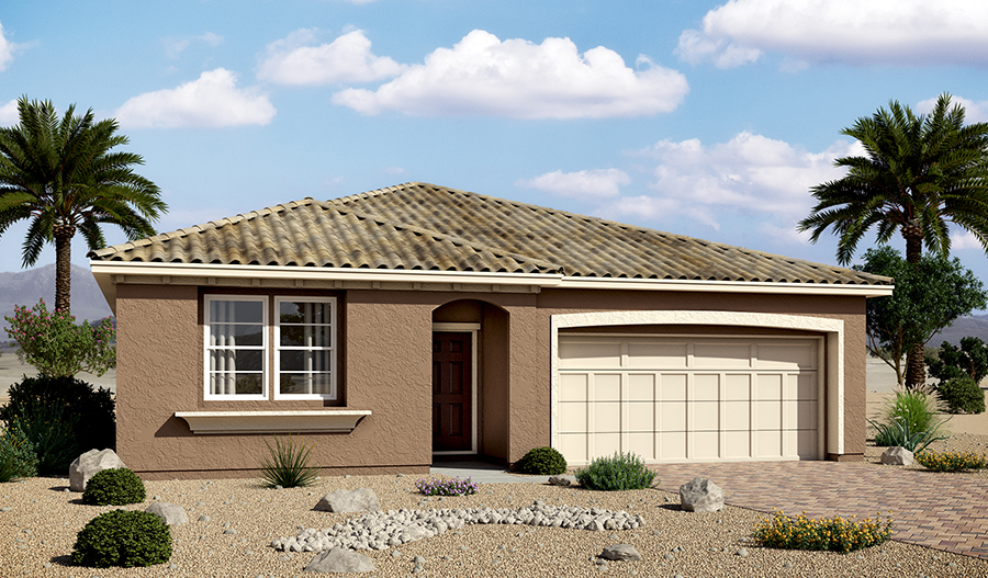 Exterior A of the Avalon floor plan