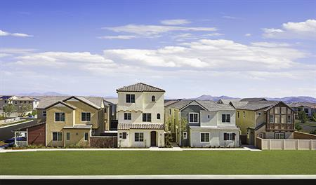 New homes at Heirloom at the Preserve in southern California