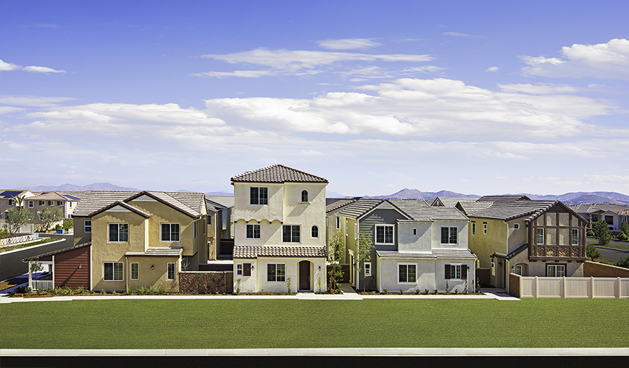 New Homes in Chino, CA | Home Builders in Heirloom at The ...