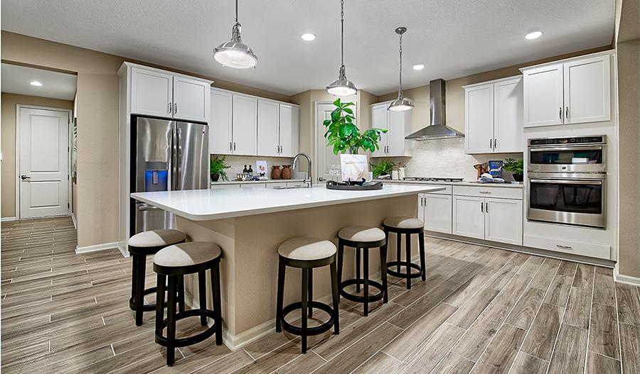 The Yorktown floor plan - kitchen