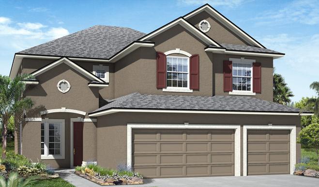 The Seth model home exterior B