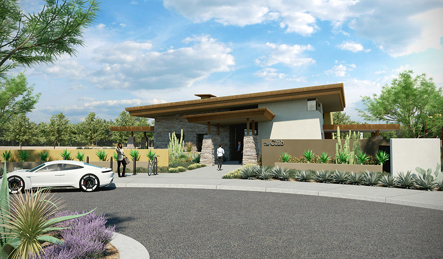 Entry to Estates at Eastmark in Phoenix