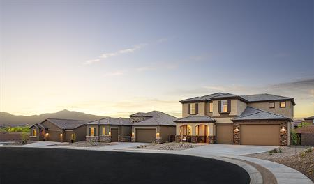 New homes at Mountain Vail Ranch III in Tucson