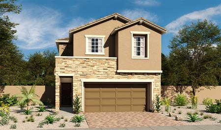 Exterior B of the Oleander floor plan