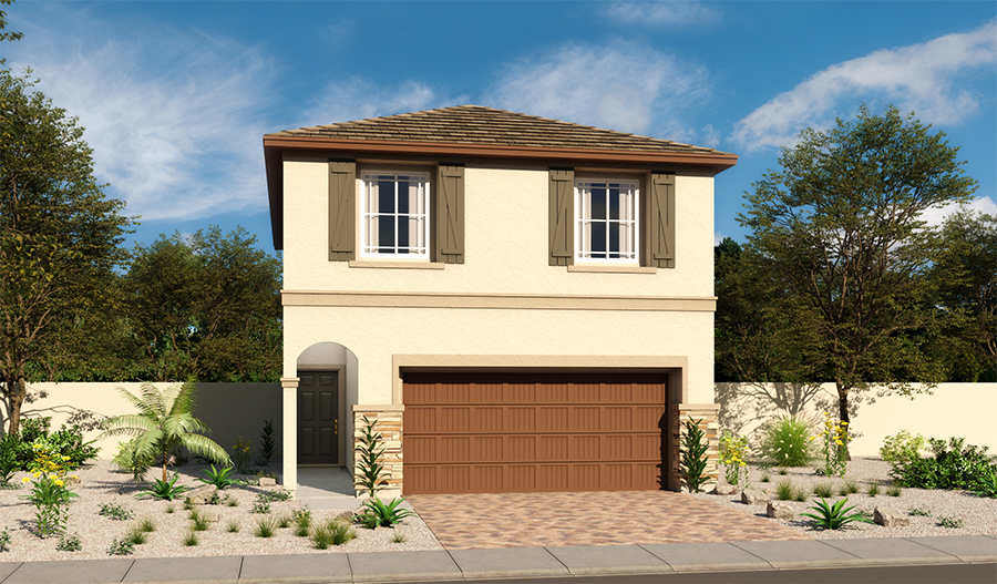Exterior C of the Lantana floor plan