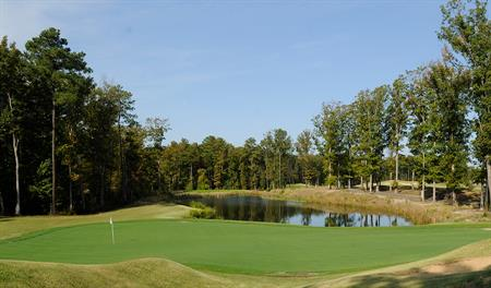 Golf course at Pendleton in northern Virginia