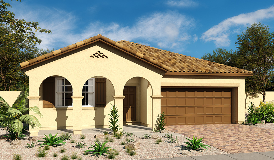 Exterior A of the Anika floor plan