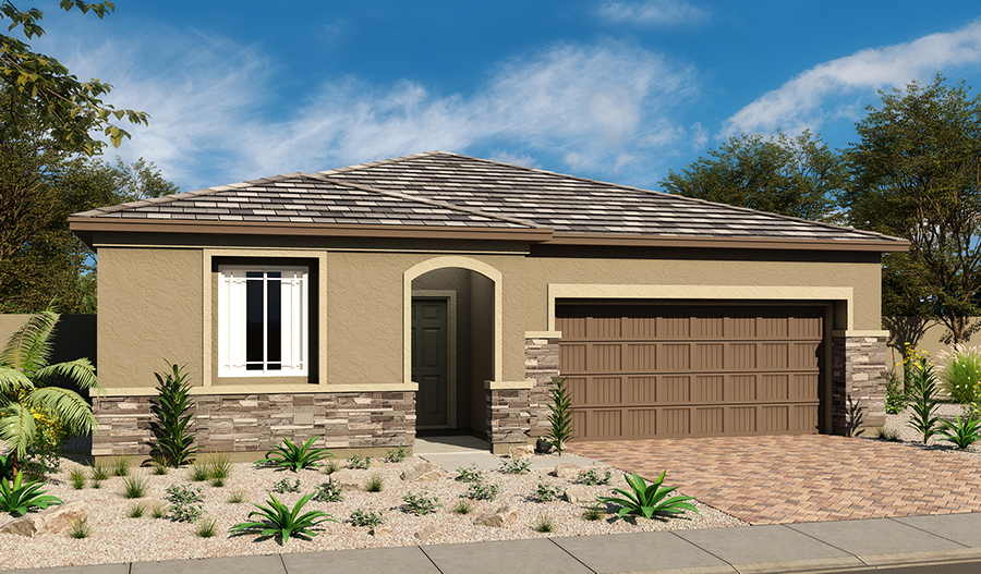 Exterior C of the Arabelle floor plan