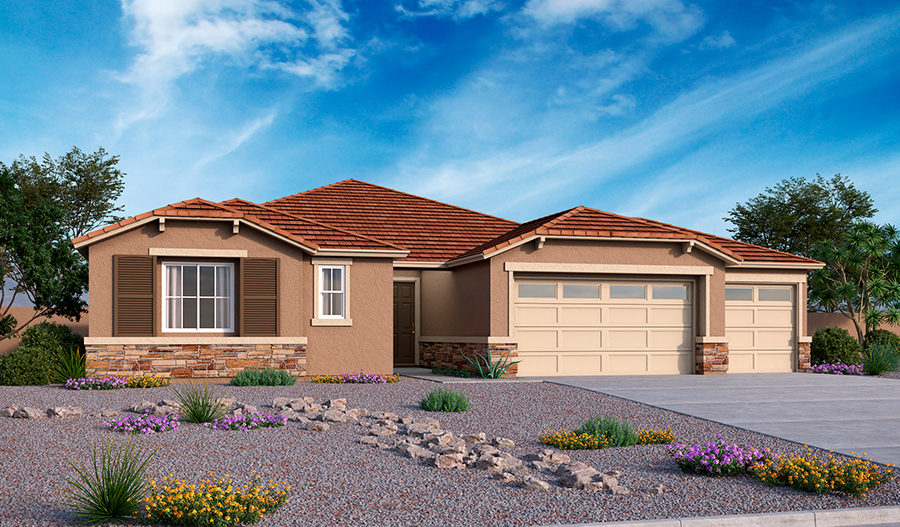 Dominic Floor Plan At Falcon View Richmond American Homes