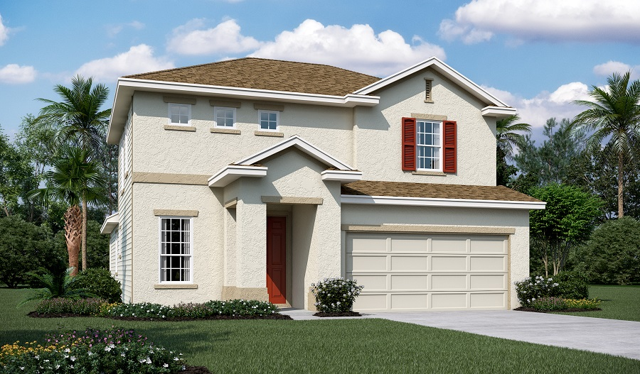 Exterior A of the Brian floor plan