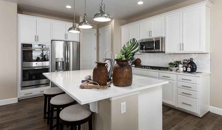 Kitchen of the Liesel plan in South Hills
