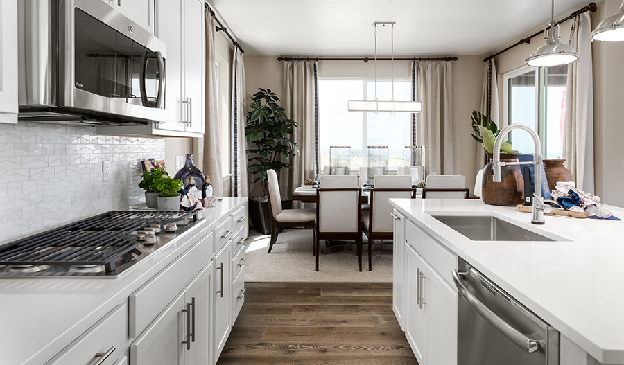 Kitchen of Liesel plan in South Hills