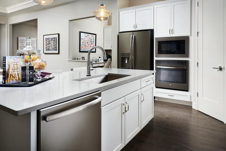 Kitchen of the Daniel plan in Denver