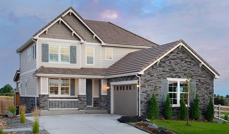 Exterior of the Skylar plan in Anthem Highlands Vistas