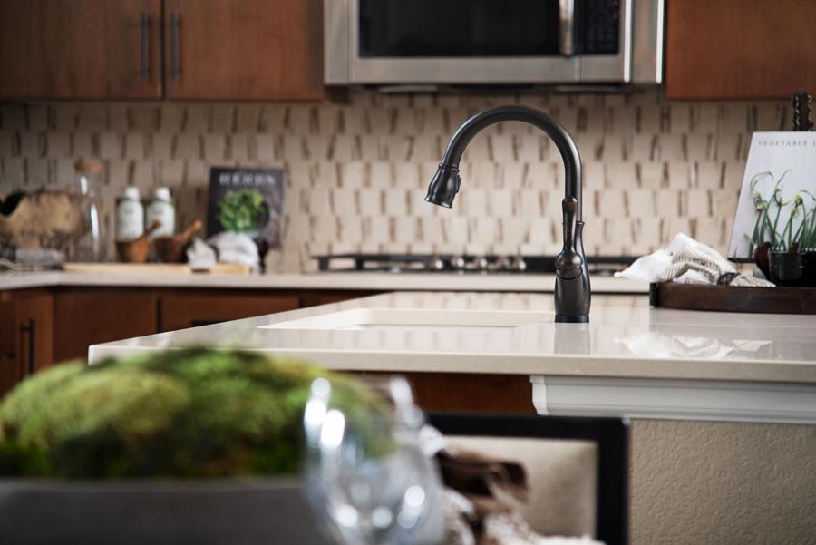 Kitchen sink of the Arlington in Anthem Highlands Vistas