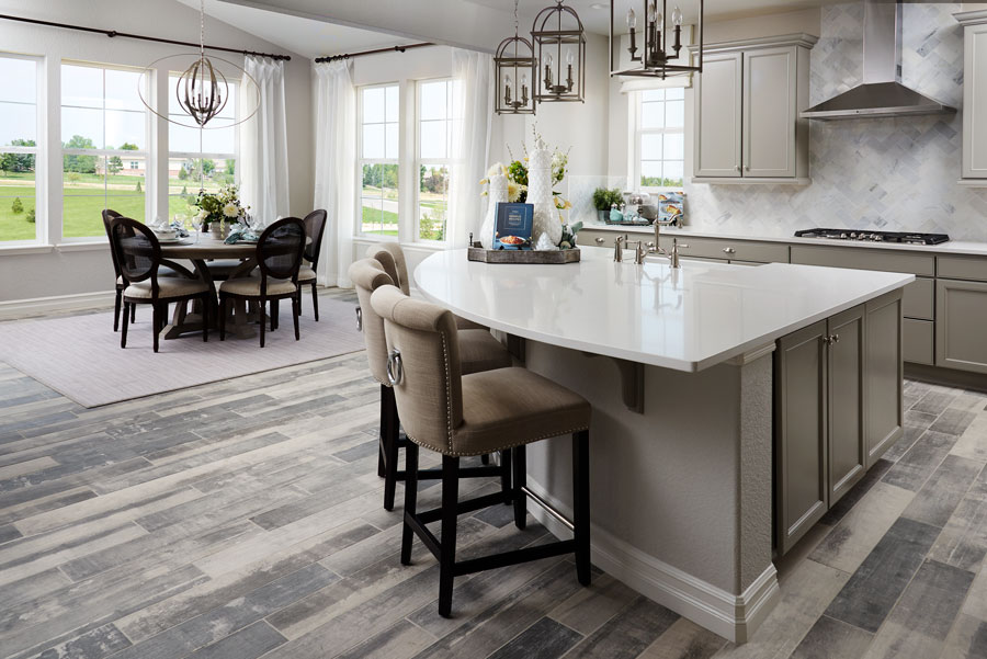 Dining room of the Skylar plan in Anthem Highlands Vistas