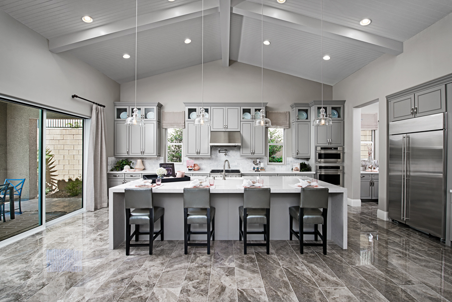 Kitchen of the Rocco plan in Stirling Manor at Highland Hills in Las Vegas