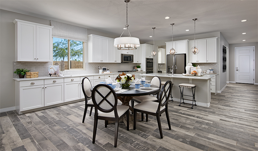 Kitchen of the Raleigh plan in Desert Oasis in Phoenix