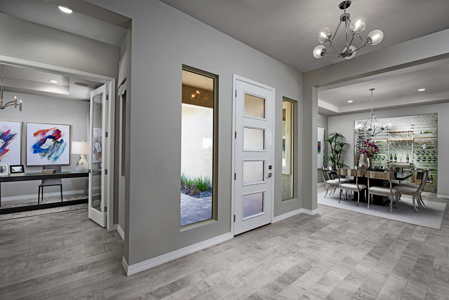 Entryway of the Rocco plan in Estates At Eastmark in PHX