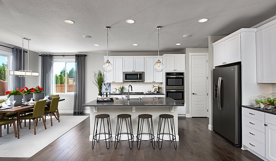 Kitchen of the Summerwalk floor plan in Summerwalk in Washington