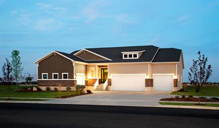 Exterior of the Delaney floor plan in Utah
