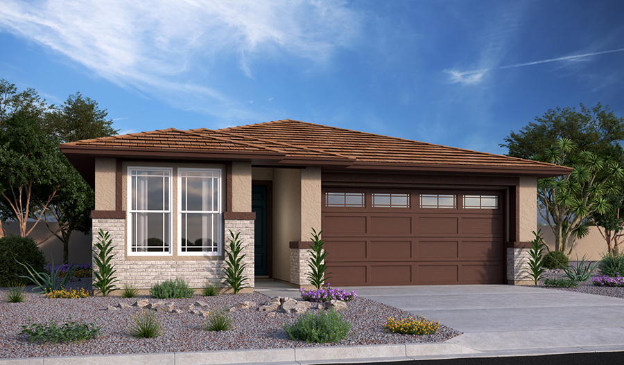 Exterior C of the Larimar floor plan