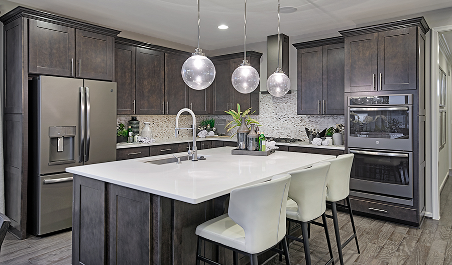 Kitchen of the Arlington in Mid A