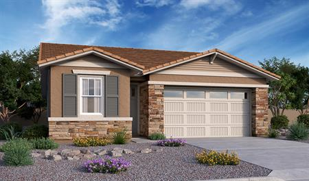 Exterior B of the Sunstone floor plan