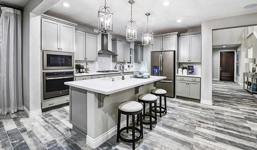 Kitchen of the Caroline plan in NCA