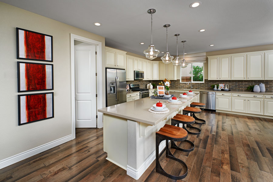 Kitchen of the Paige plan in NCA