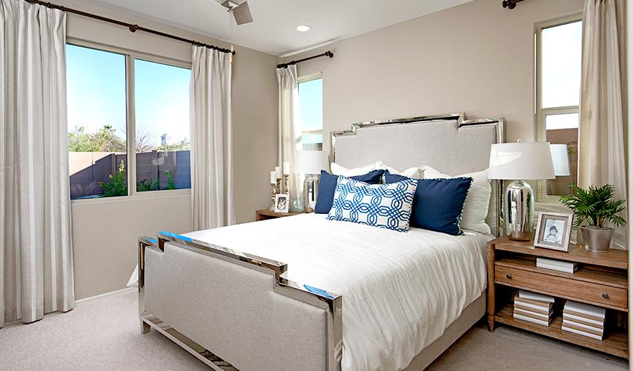 Owner's Bedroom of the Azure plan in PHX