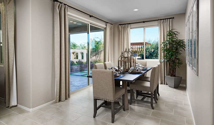 Dining room of the Azure plan in PHX