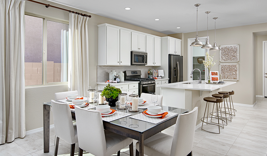 Kitchen of the Sunstone plan in PHX