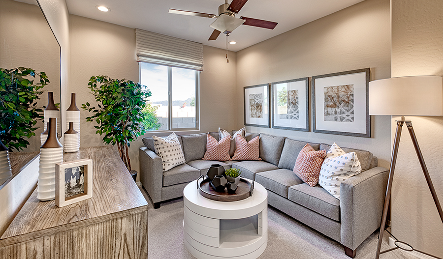 Bonus Room of the Sunstone plan in PHX
