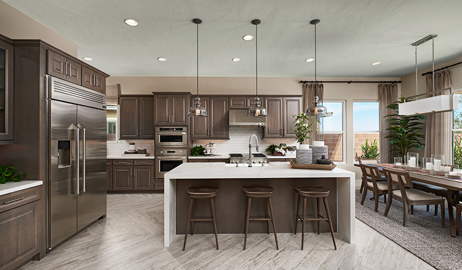 Kitchen of the Raven plan in LV