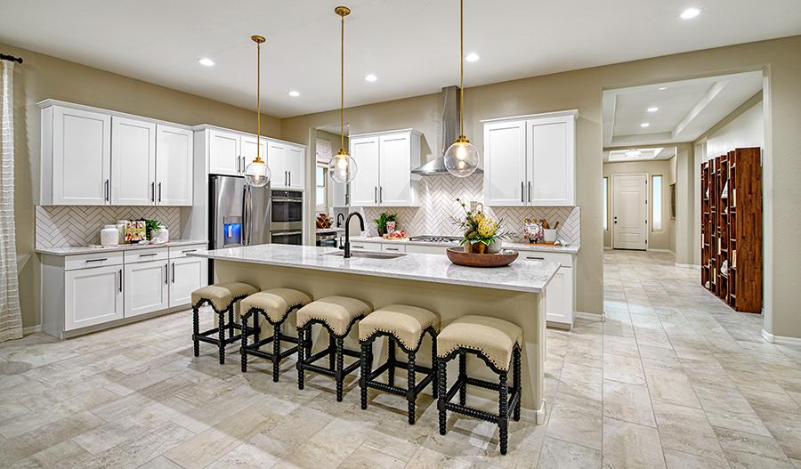 Kitchen of the Celeste floor plan in PHX