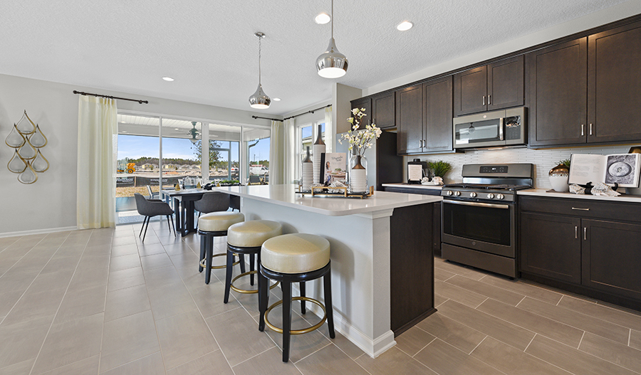Kitchen of the Moonstone plan in JAX