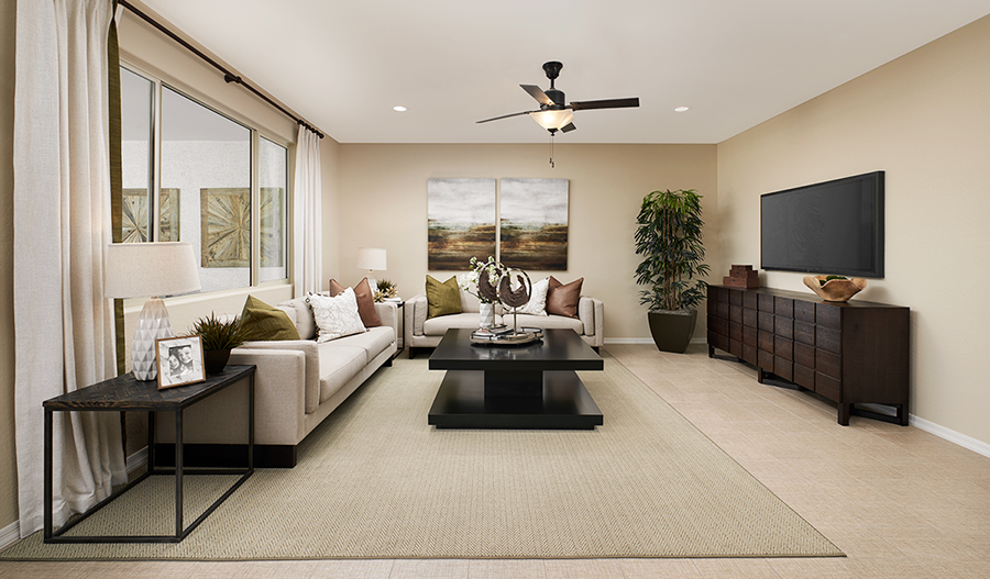 Family room of the Paulson plan in PHX
