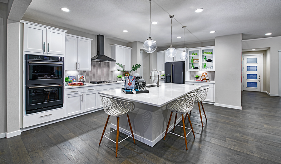 Kitchen of the Coronado plan in Kemmer Ridge