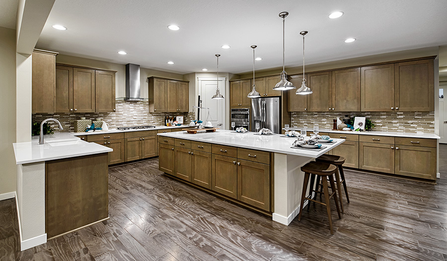 Kitchen of the Alexa plan in ORE