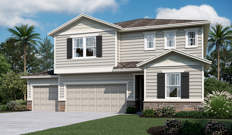 Exterior L of the Moonstone floor plan