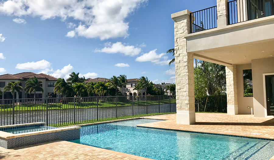 Pool of the Cheval listing in Boca Raton