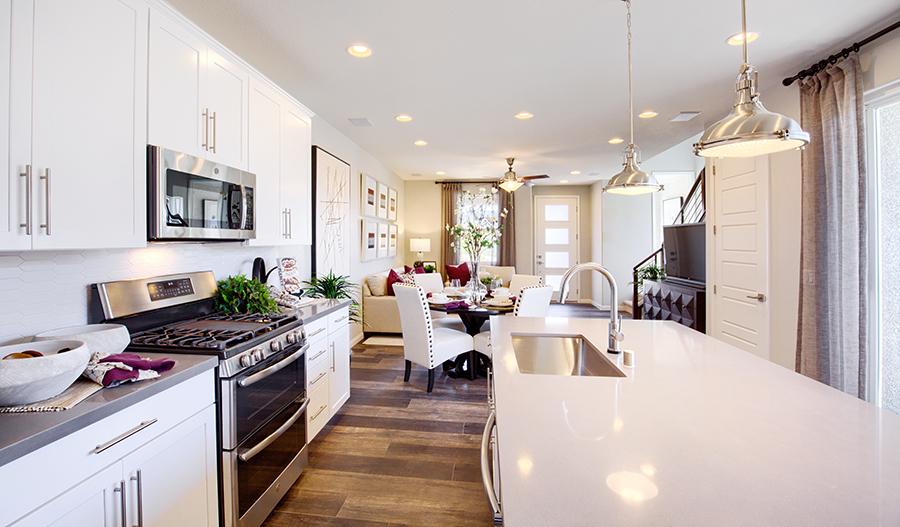 Kitchen of the Boston plan in Las Vegas
