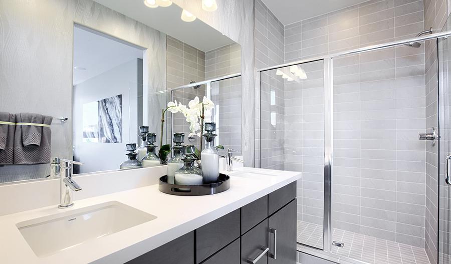 Owner's bathroom of the Chicago plan in Las Vegas