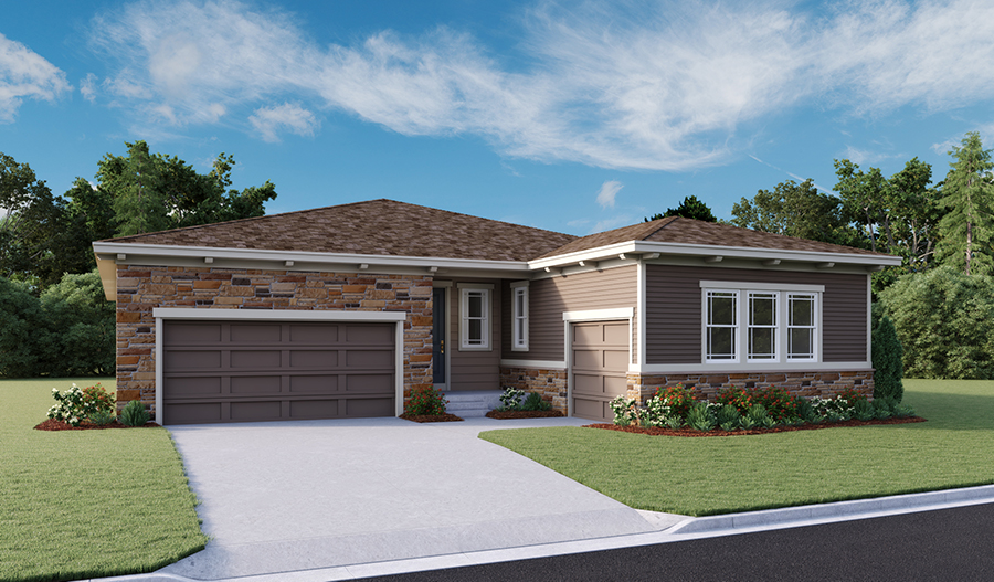 The Pendleton - Elevation C - Crystal Valley Ranch