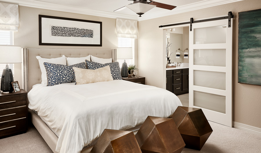 Owner's Bedroom of the Lapis plan in Colliers Hill