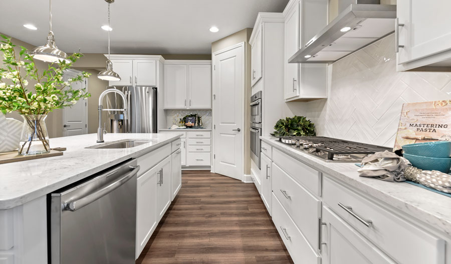 Kitchen of the Appleby plan in Jacksonville