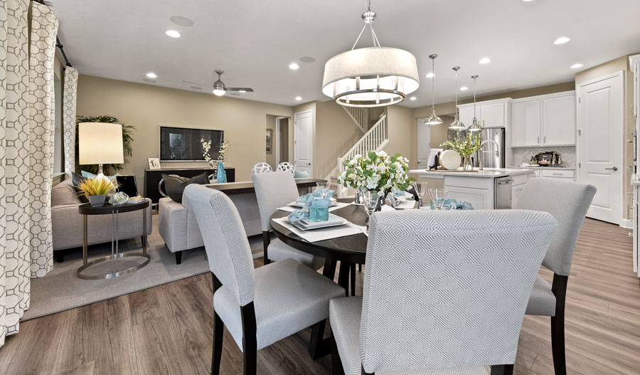 Dining area of the Appleby plan in JAX