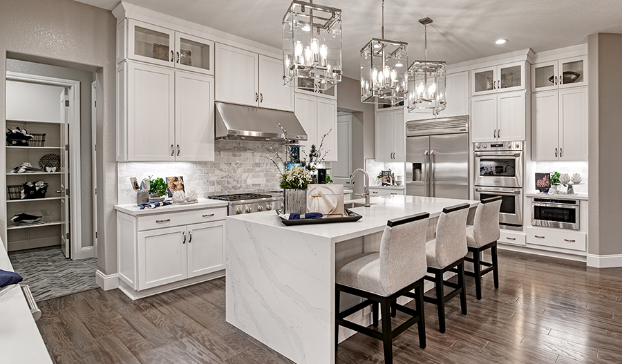 Kitchen of the Pascal plan in Stonebrae in NCA