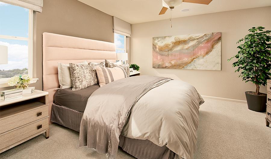 Owner's bedroom of the Alexandrite plan in Denver